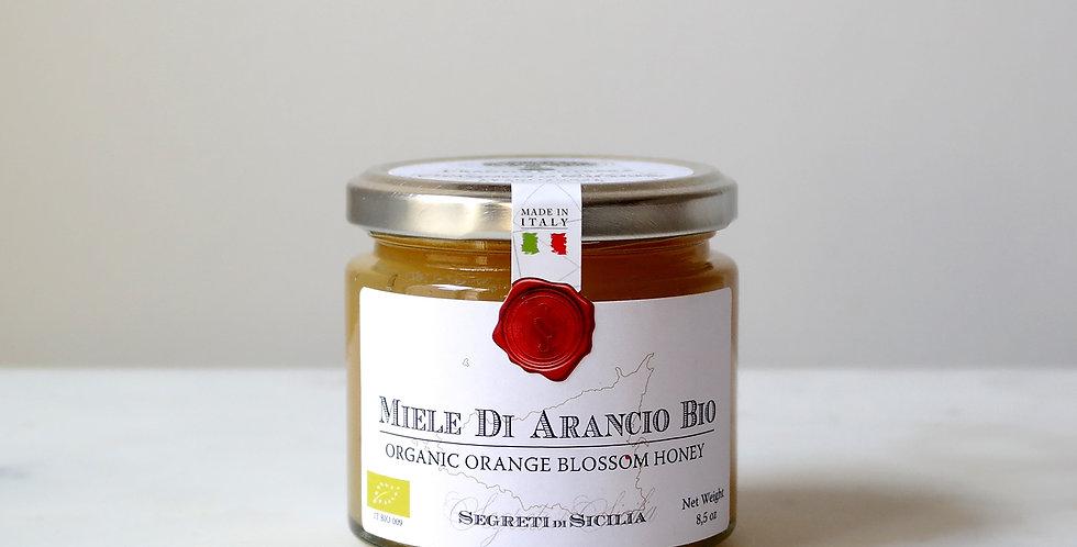 Organic RAW Unpasteurized ORANGE Blossom Honey