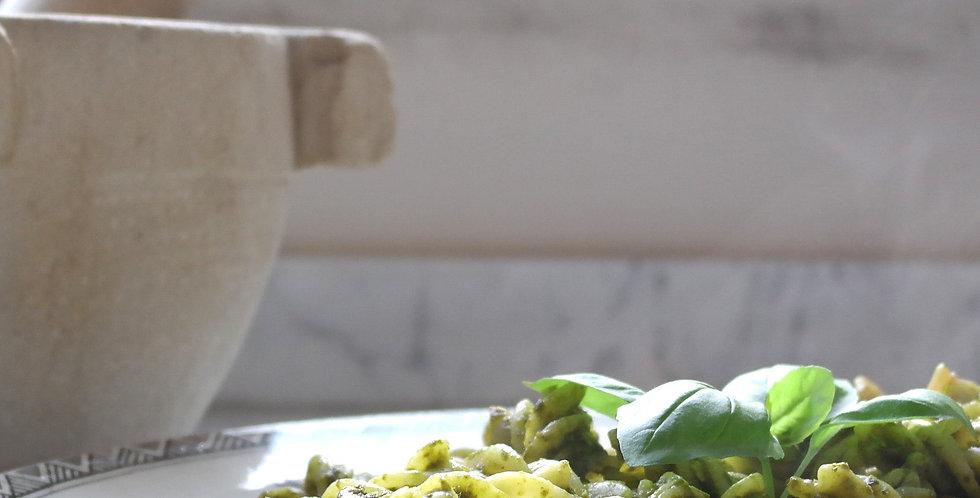 Basil Sicilian Pesto Fusilli Kit   up to 4