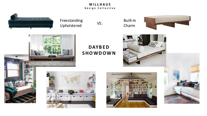 Daybeds - modern daybeds, built-in daybeds