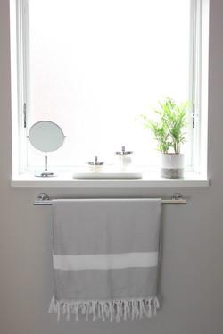 Basement Bathroom Remodel - Window