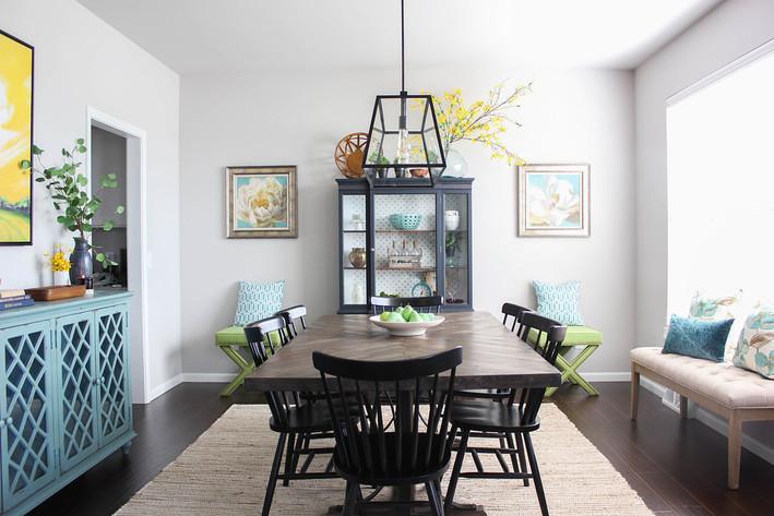 Modern Farmhouse Dining Room Reveal