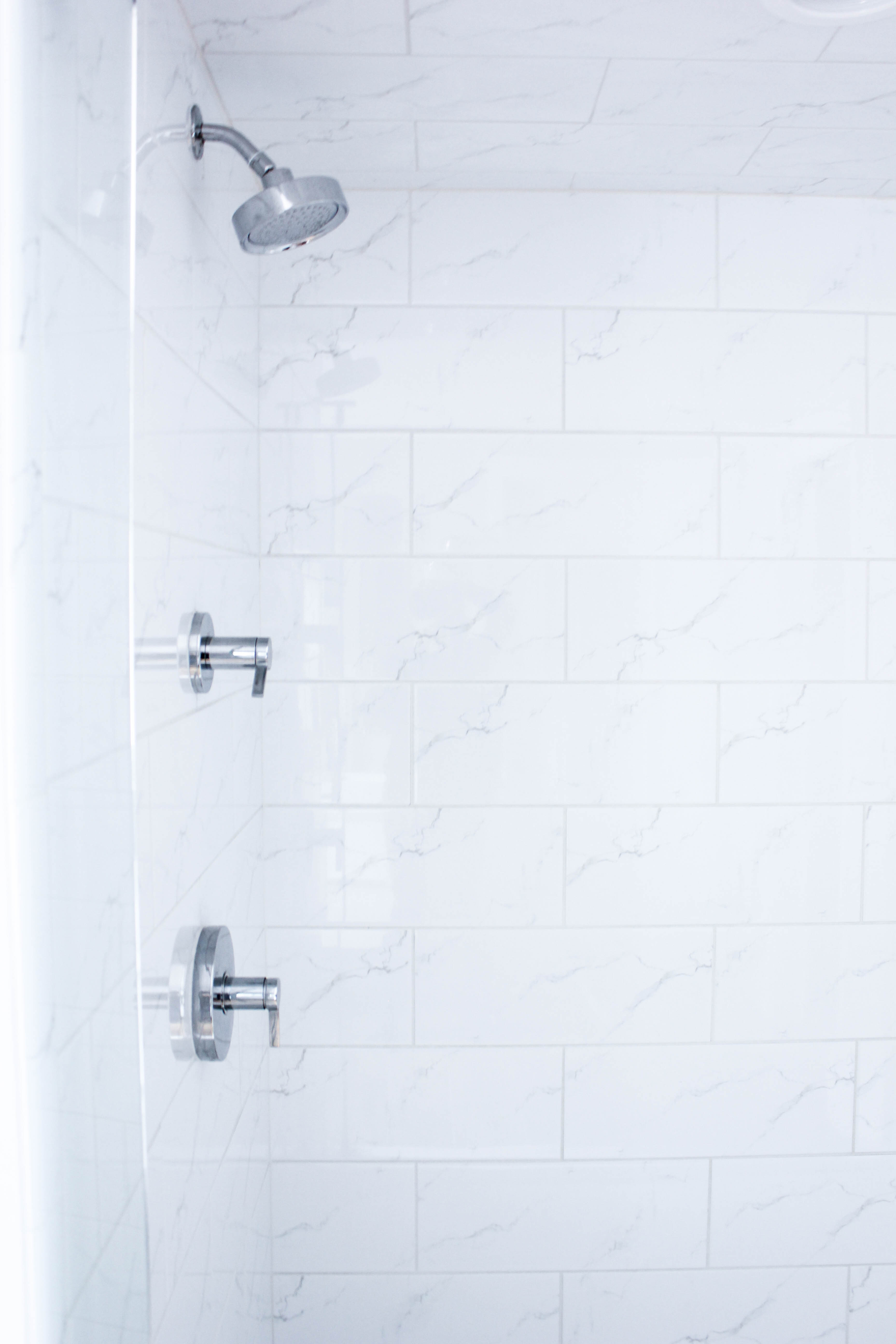 Basement Bathroom Remodel - Shower