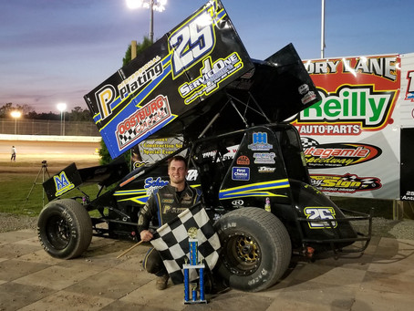 Arenz goes back to back with MSA  at Outagamie Speedway