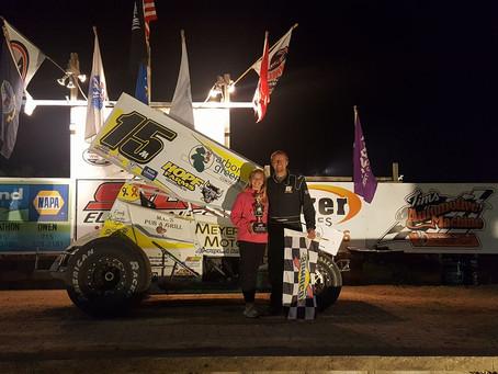 Justin Miller picks up win at Spring Lake Speedway