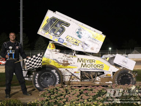 Justin Miller picks up win at PDTR