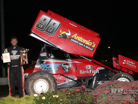 McMullen wins Wisconsin Sprint Car Championship A-main