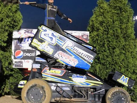 Travis Arenz picks up win at Angell Park Speedway