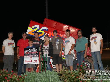 Danny Schlafer wins at Angell Park