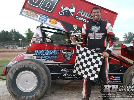Brandon McMullen gets win at PDTR