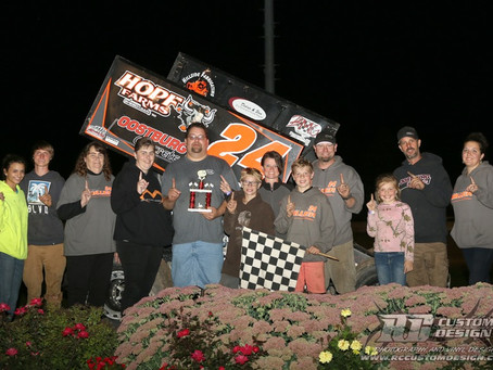 Adam Miller gets first career A-Main win