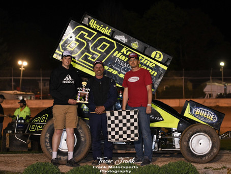 Bill Taylor gets first career A-Main win at PDTR