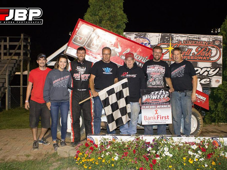 Brandon McMullen gets Angell Park Victory on Sunday night