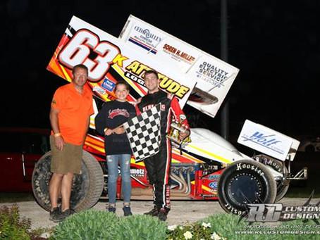 Kevin Karnitz gets 2nd win of the season Saturday nigth at PDTR