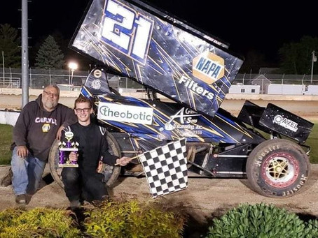 Will Gerrits gets first career win Saturday night at PDTR