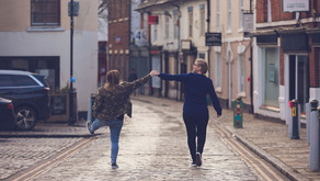 Engagement session in Atherstone, Warwickshire