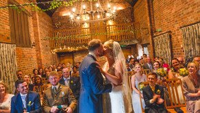Wedding highlights - Sophia and Phil at the Curradine Barns, Worcestershire