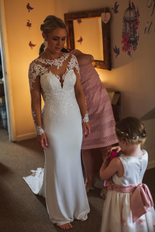 That dress! It's stunning!