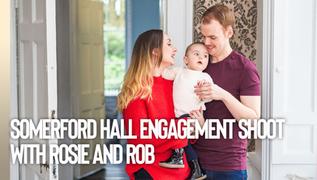 Somerford Hall Engagement Shoot