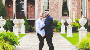 Engagement session with Kayleigh and Ian at Rowton Castle, Shropshire