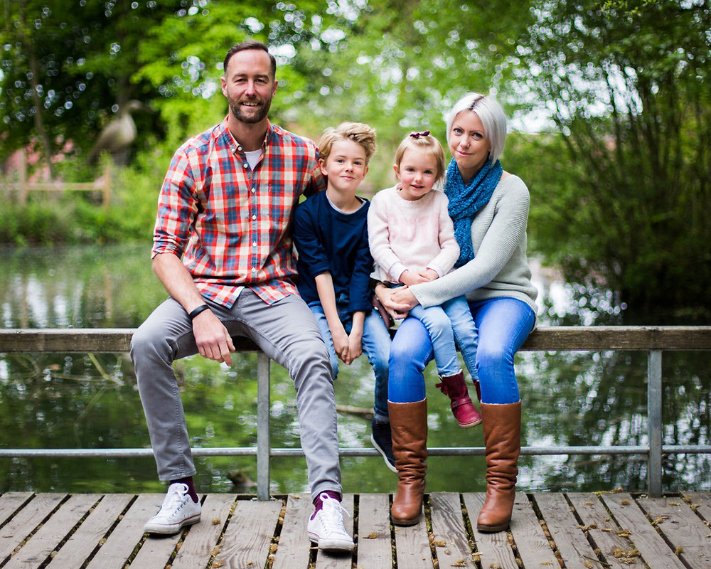 Family photography at the lovely Sandwell Country Park