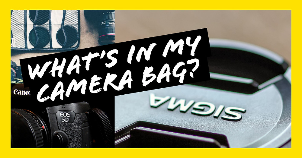 What's in my camera bag - 2018