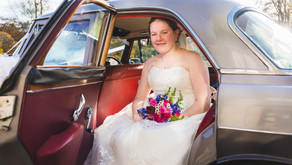 Ben and Beth enjoy the ceremony only package at the Priory registry office, Dudley
