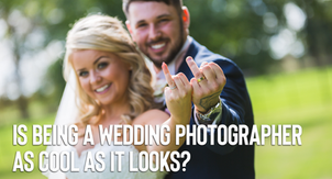 Is being a wedding photographer as cool as it looks?