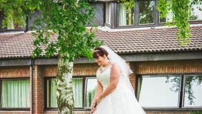 When a wedding happens at a golf course...