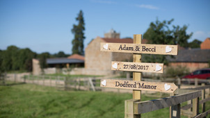 Hip hip hip hooray! The sun had got his hat on and he certainly came out to play! Wedding Highlights
