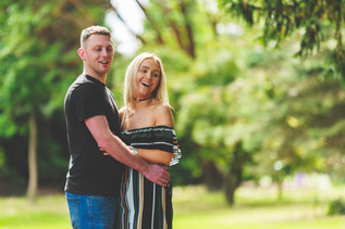 Engagement session with Theresa and Martin at West Park, Wolverhampton
