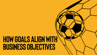 How goals align with business objectives