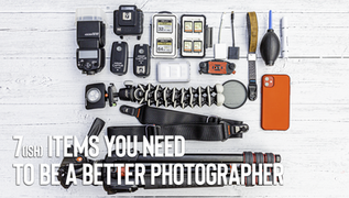 7 Items of tech you need to improve your life as a photographer