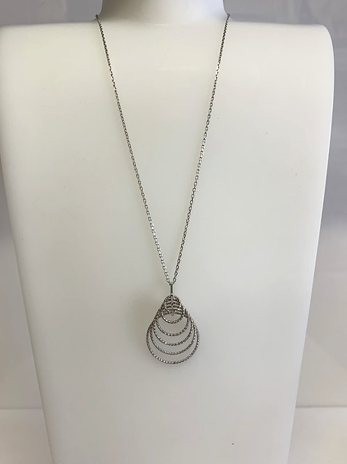 Sterling Silver Conical pendant