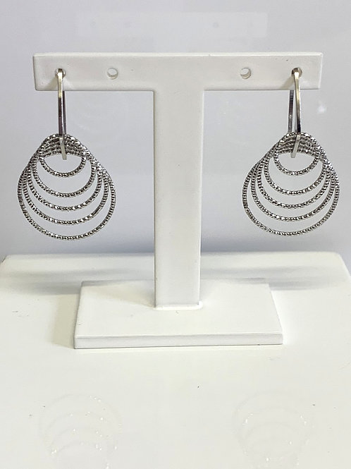 Sterling Silver Conical earrings