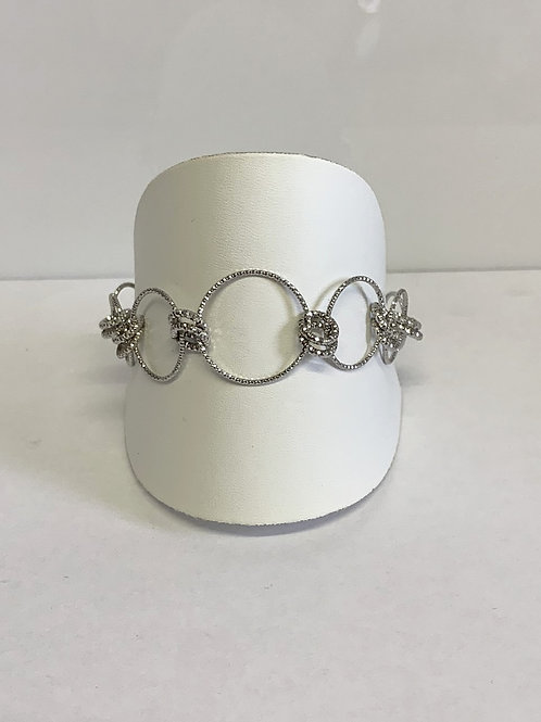 Sterling Silver Conical bracelet