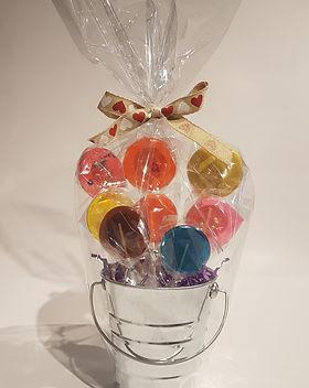 Small Lollipop Arrangement