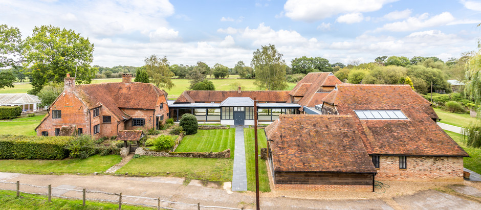 Farm House with a Modern Twist
