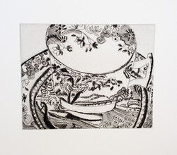 Willow Pattern Tea Cup