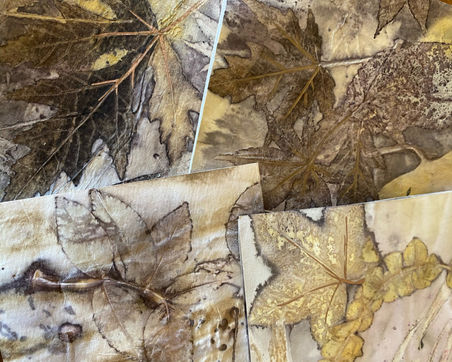 Design and dye experiments on card paper