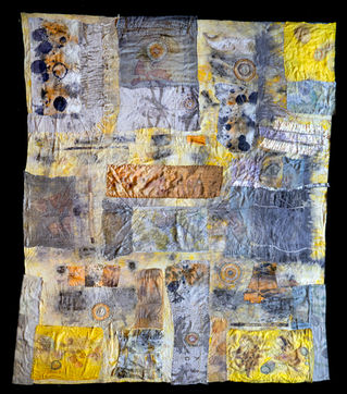 Vestige meditation quilt