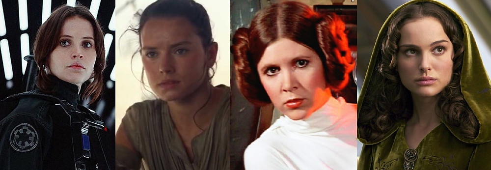 Leading ladies of Star Wars, Source: Black Girl Nerds