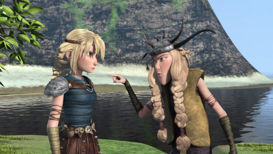 The Background Body of How to Train Your Dragon