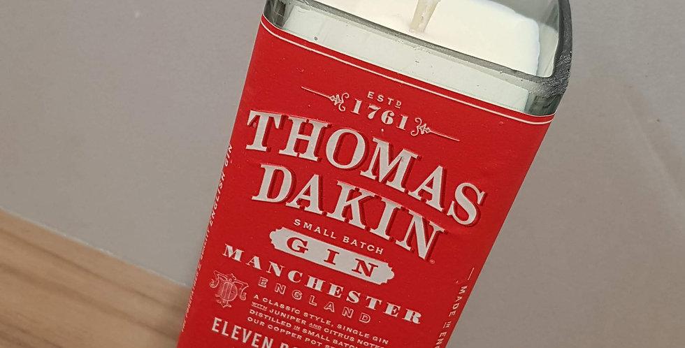 Thomas Dakin Gin Bottle Candle