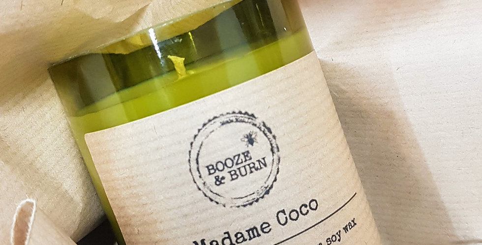 Madame Coco - Wine Bottle Candle