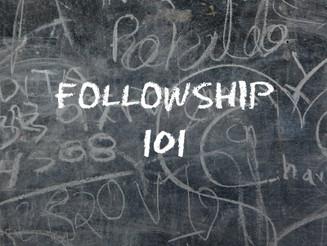 Crash Course: Fellowship 101!