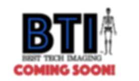 Best tech imaging logo coming soon sign.