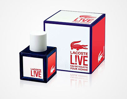 Logotype Lacoste Live