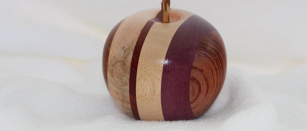 Pomme - Koto + Bubinga +Amarante+Padouk +Plaine ambrosia