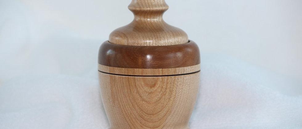 Boîte décorative avec couvercle - Merisier & Acacia