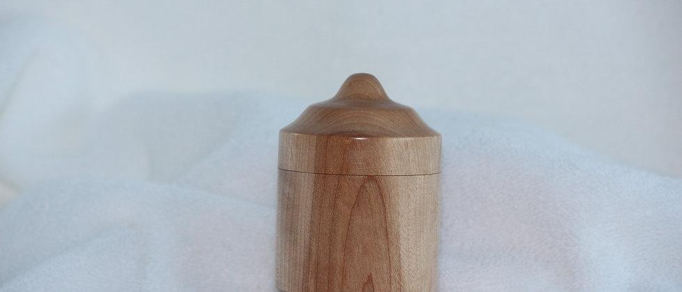 Boîte décorative avec couvercle - Merisier